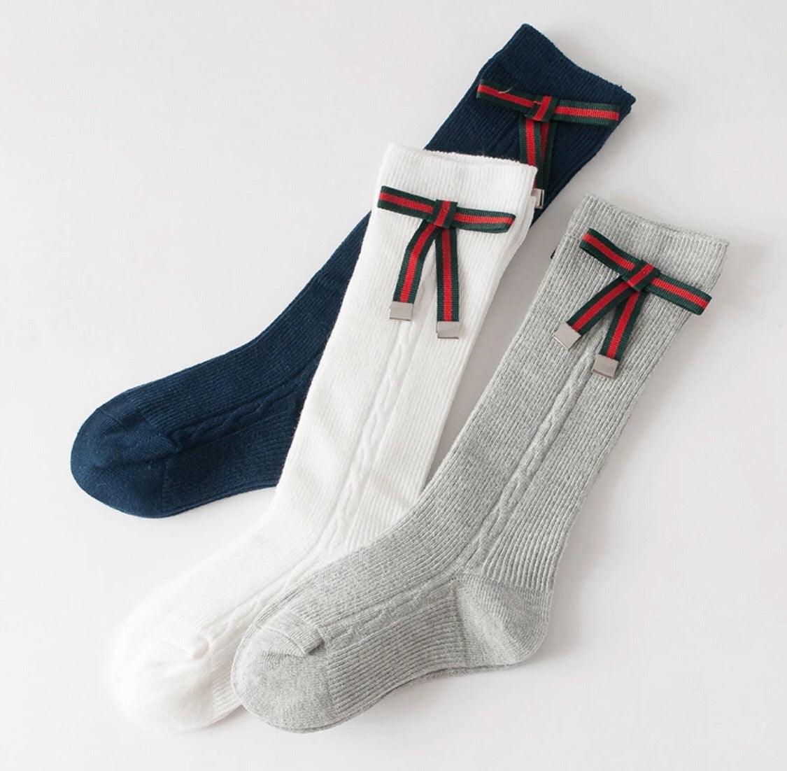 Ribbon socks