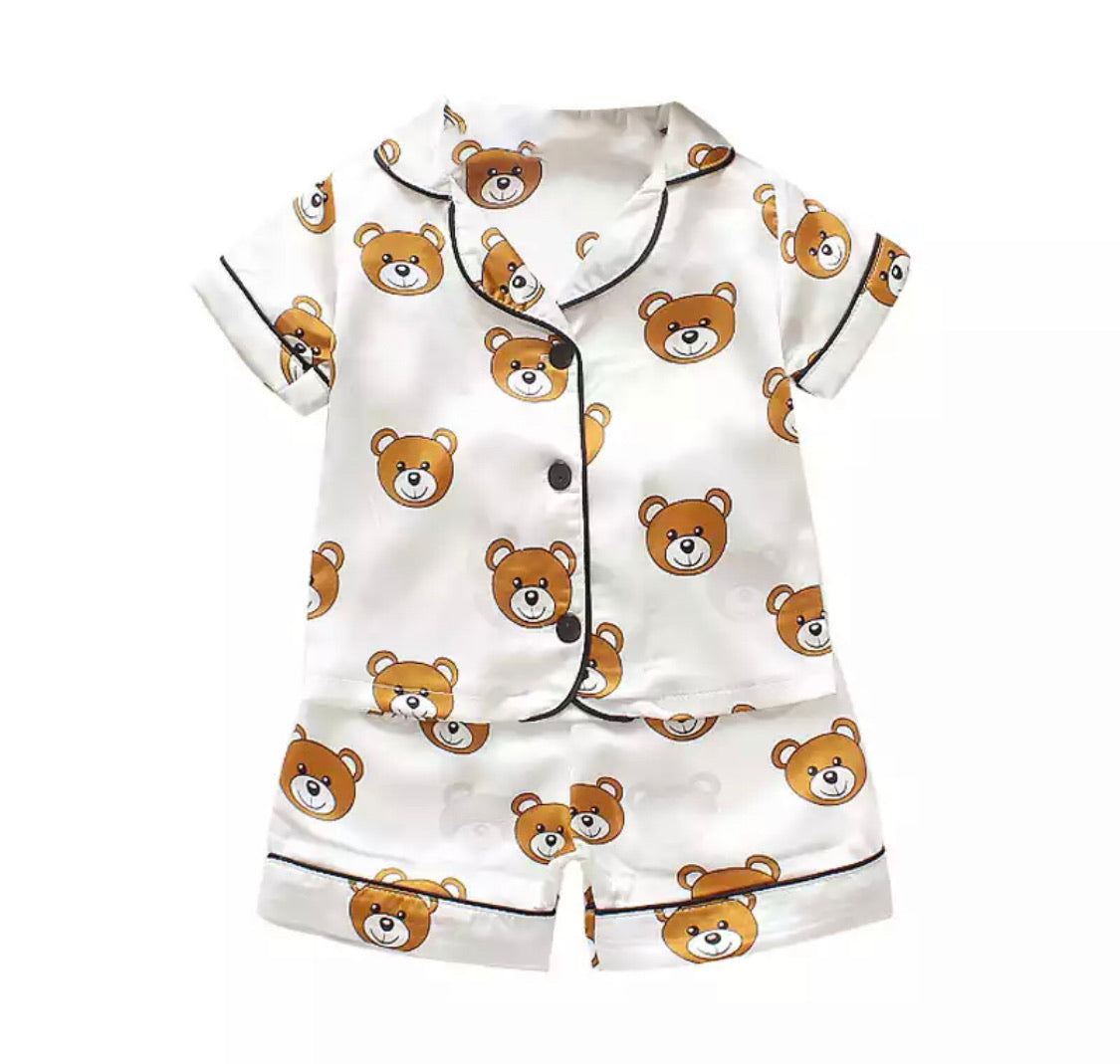 Bear set white