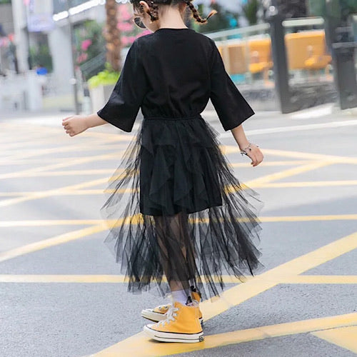 Black Tulle things dress