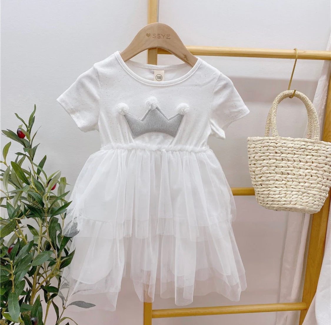 Princess things dress white
