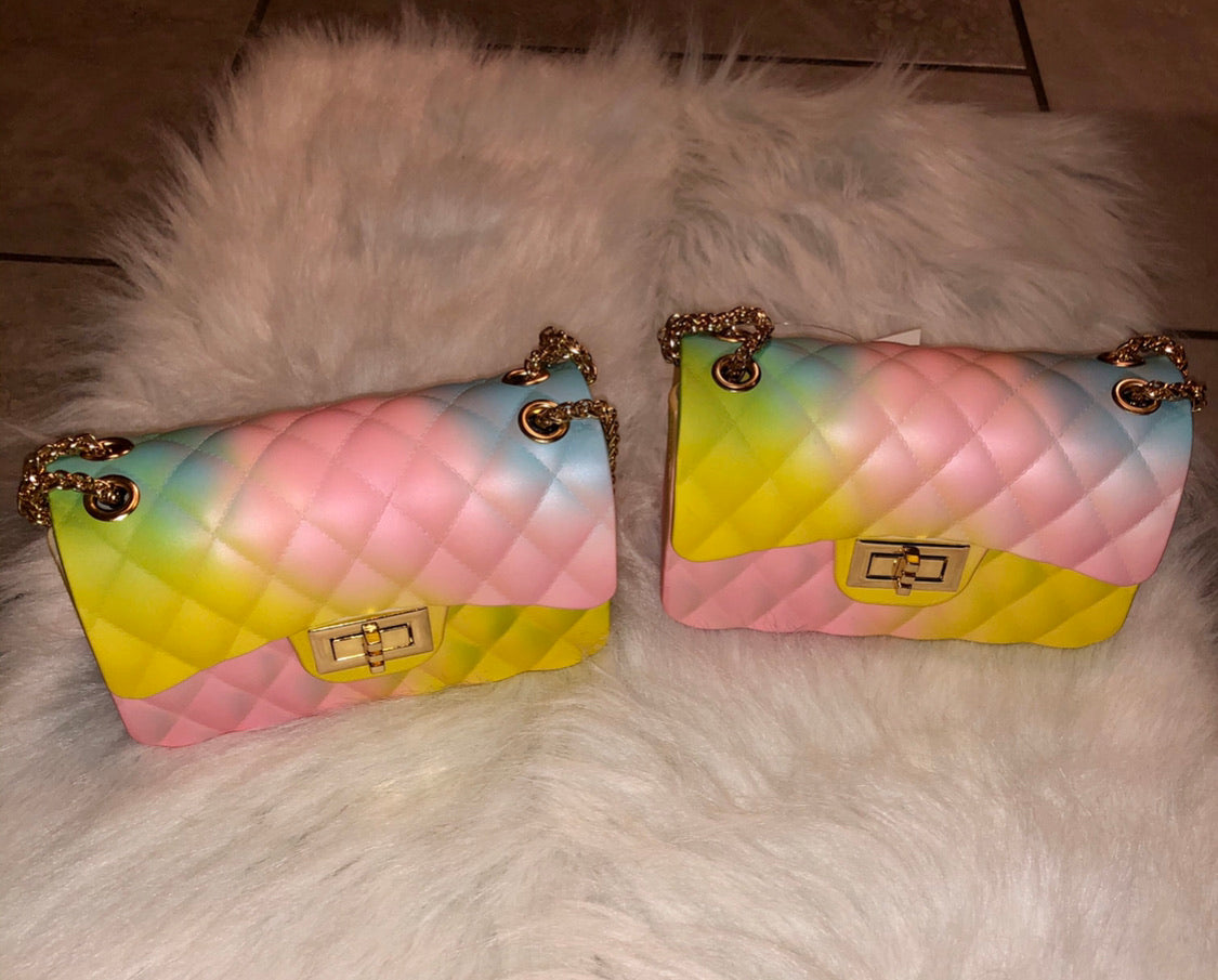 Starburst cross body handbag