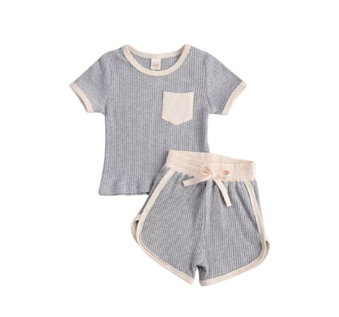 Trendy lounge set- Gray