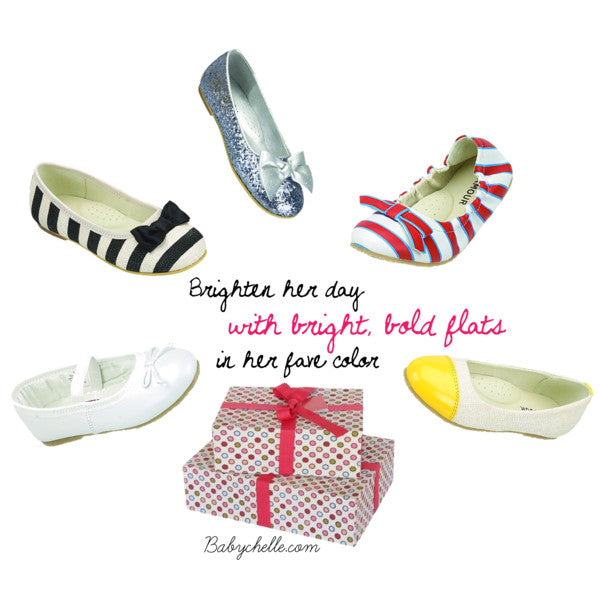L'Amour Kids Girl's Flats at Babychelle.com