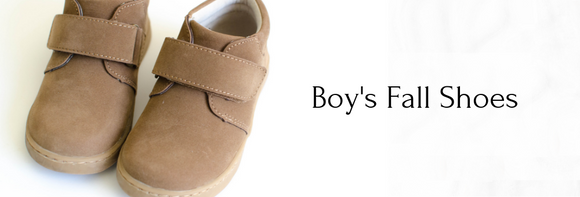 Boy's Fall Shoes at Babychelle