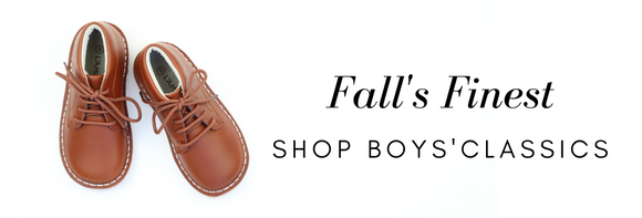 Toddler Boy's Classic Shoes Fall Styles at Babychelle.com