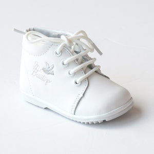 Angel Baby Boys Mi Bautizo Lace Up Oxford Shoes
