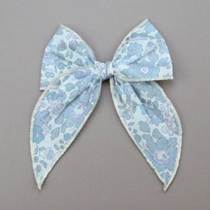 Girls Liberty of London Midi Bow with Alligator Clip - Becca Hair Bow - Babychelle.com