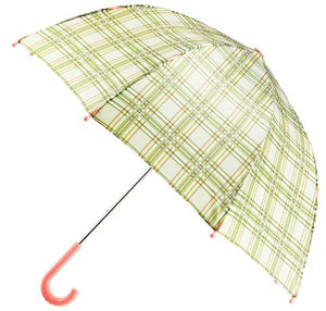 Pluie Pluie Girls RU - GP Green Plaid Umbrella