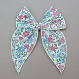 Girls Liberty of London Midi Bow with Alligator Clip - Sarabeth Hair Bow - Babychelle.com