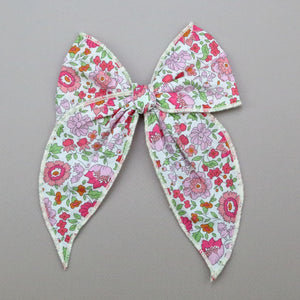 Girls Liberty of London Midi Bow with Alligator Clip - Alayna Hair Bow - Babychelle.com