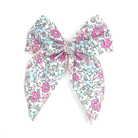 Clarisse Liberty of London Midi Bow with Alligator Clip -Babychelle.com