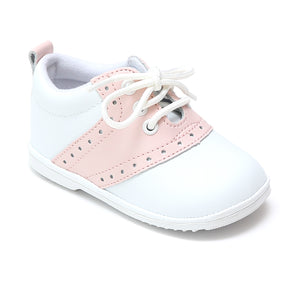 Angel Baby Girls Addie Lace Up Saddle Oxfords - Babychelle.com