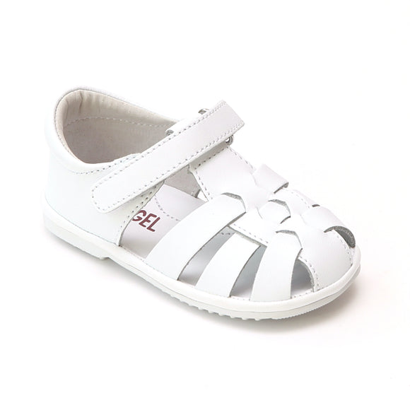 Angel Baby Boys Leather Fisherman Sandals