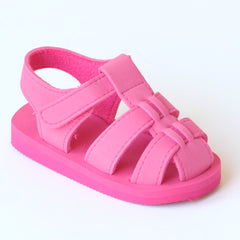 Angel Baby Girls EVA Fuchsia Foam Fisherman Sandals