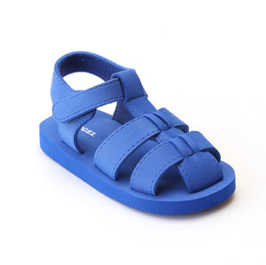 Angel Baby Boys EVA Royal Blue Foam Fisherman Sandals - Babychelle.com