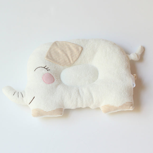 Babymio 100% Organic Cotton Elephant Pillow
