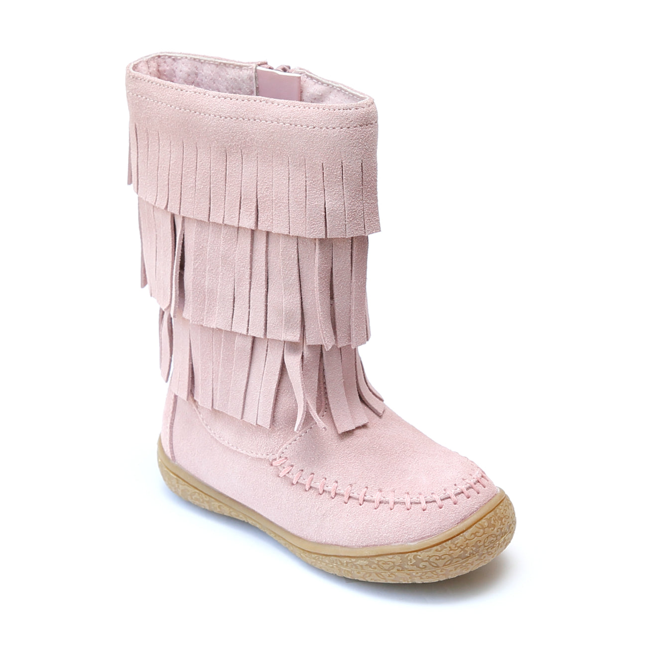 L'Amour Girls Suede Leather Fringe