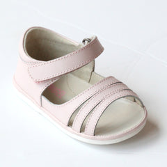 Angel Baby Girls Pink Strappy Sandals