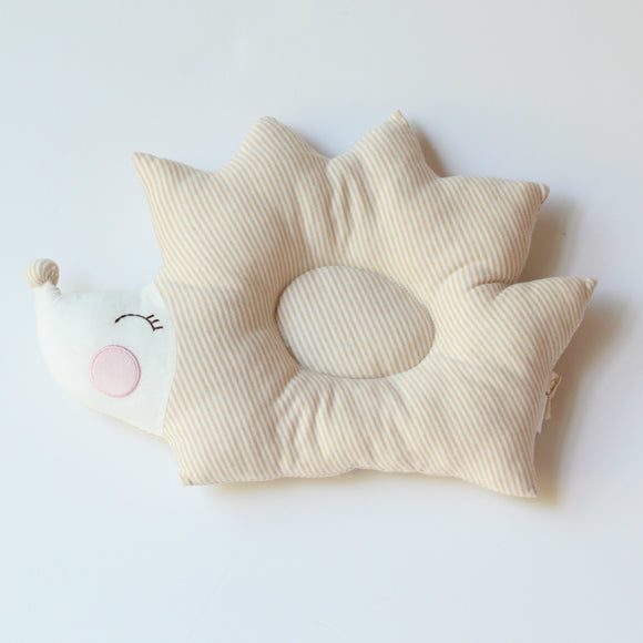 Babymio 100% Organic Cotton Hedgehog Pillow