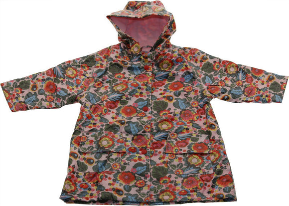 Pluie Pluie Girls RC - Multi Floral Rain Coat