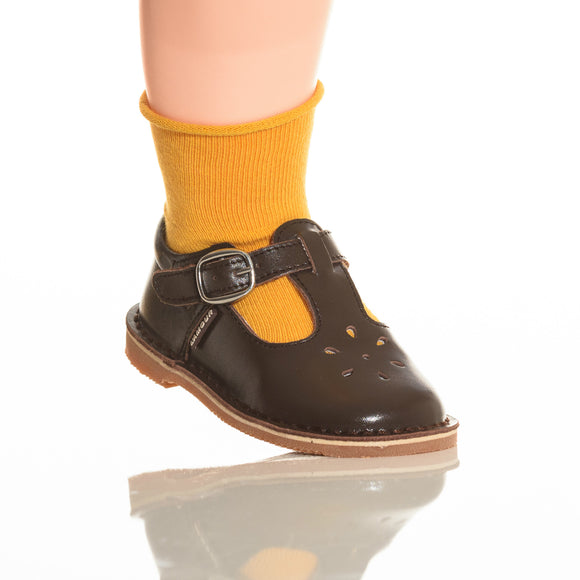 Babychelle Mustard Cotton Ankle Socks