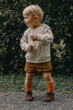 Angel Infant Boys 2157 Nubuck Brown Leather Dress Lace Up Oxfords - Babychelle.com