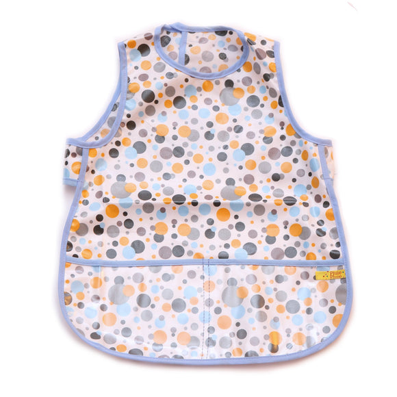 Pluie Pluie Girls Three Tone Dot Bib