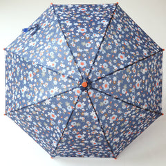 Pluie Pluie Girls RU - NY Navy Flower Umbrella