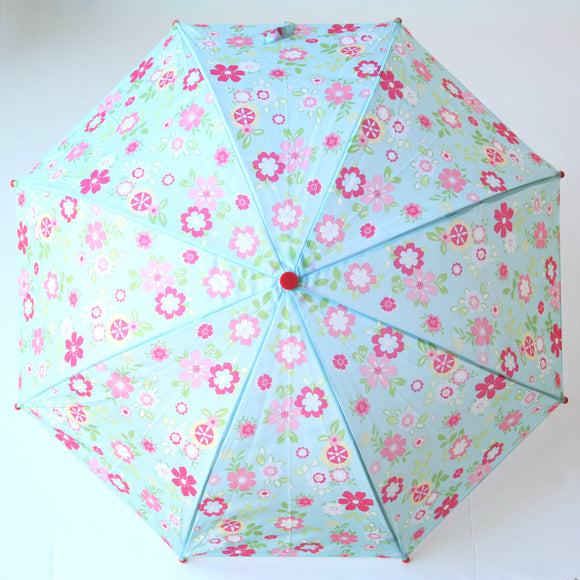 Pluie Pluie Girls RU - FP Blue Floral Umbrella