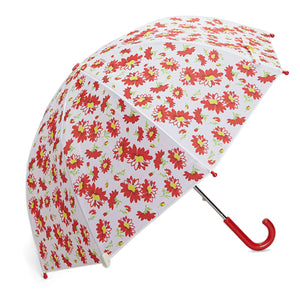 Pluie Pluie Girls RU - RF Red Flower Umbrella - Babychelle.com