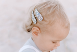 Thea London of Liberty Fabric Hair Snap Clip - Babychelle.com