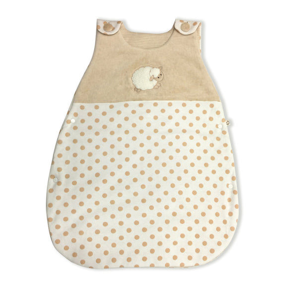 Babymio Organic Padded Sleeping Bag in Vest Style