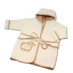 Babymio 100% Organic Cotton Terry Bathrobe