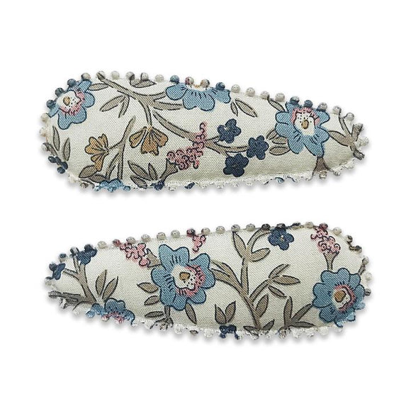 Alana London of Liberty Fabric Hair Snap Clip - Babychelle.com
