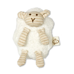 Babymio 100% Organic Cotton Sheep Mini Rattle