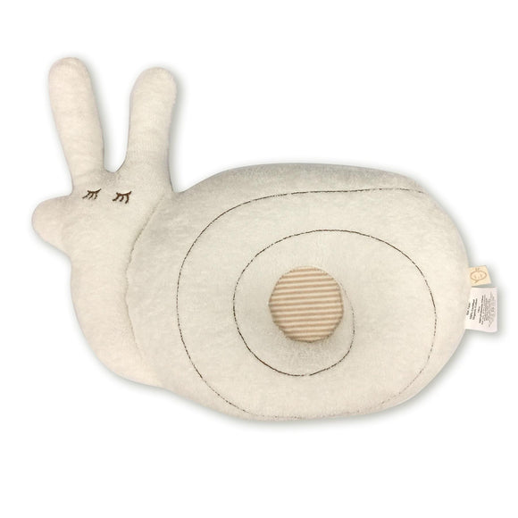 Babymio 100% Organic Cotton Snail Pillow