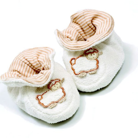 Babymio 100% Organic Cotton Terry Booties