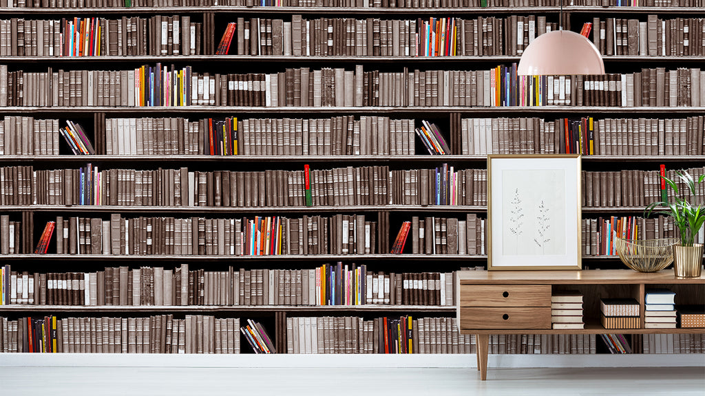 Bookshelf | Wallpaper | Astek Home | Zoom