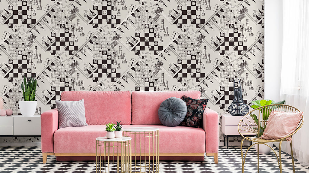 Check Mate | Vintage Wallpaper | Astek Home