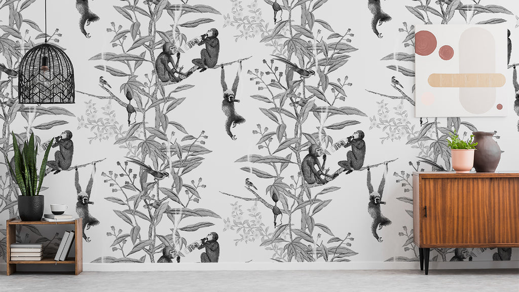 Drunk Monkeys | Wallcovering