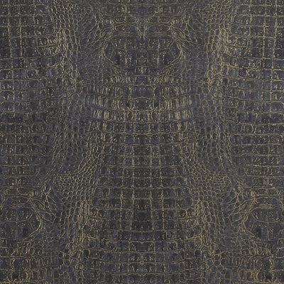 Crocodile Skin Wallpaper Brown Astek Home