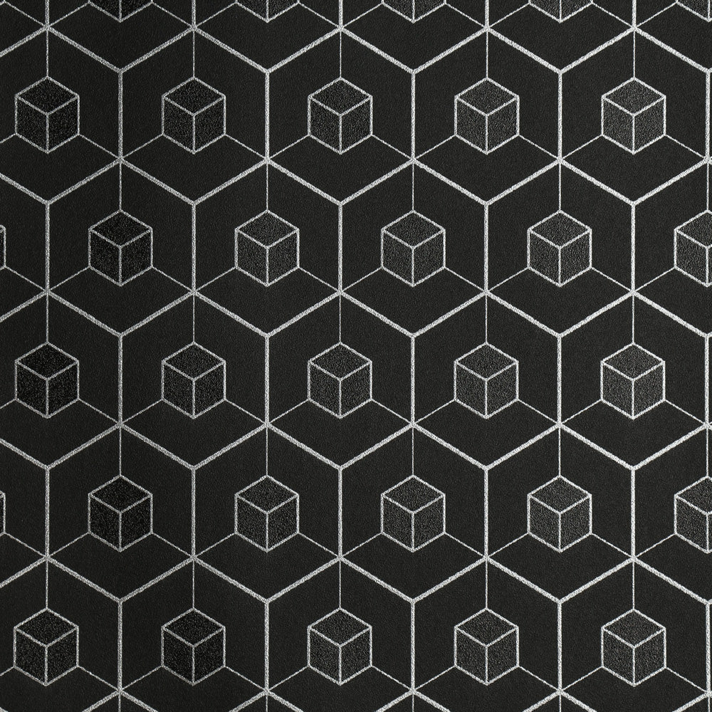 Cube - Black Wallpaper