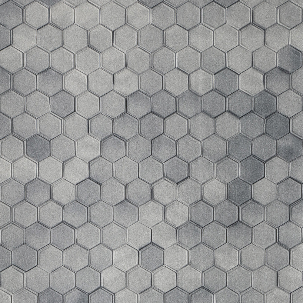 Hexagon - Grey Wallpaper