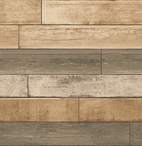 Weathered Plank Wheat Wood Texture Wallpaper Wallpaper