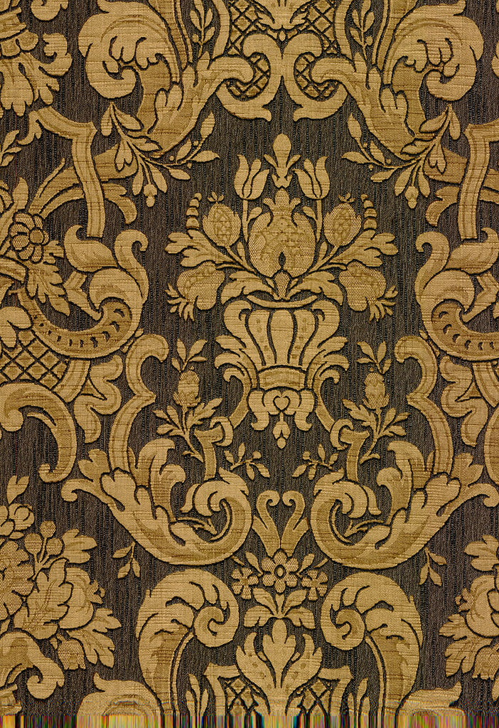 Milano Brown Damask Wallpaper Wallpaper