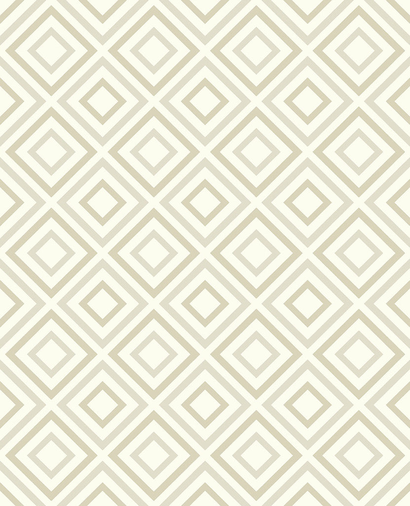 Horus Champagne Diamond Geo Wallpaper Wallpaper