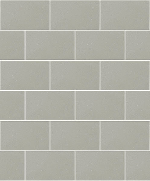 Angelo Grey Subway Tile Wallpaper Wallpaper