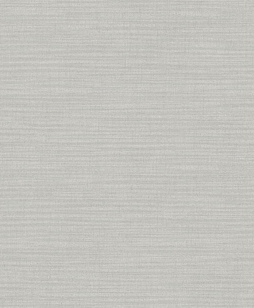 Perdita Grey Linen Wallpaper Wallpaper