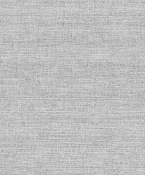 Perdita Light Grey Linen Wallpaper Wallpaper