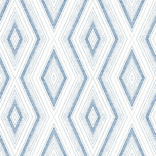 Santa Cruz Blue Geometric Wallpaper Wallpaper